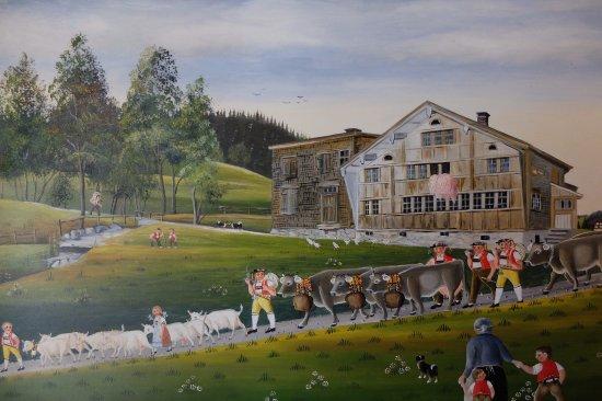 Museum Appenzell : Senntum-Malerei