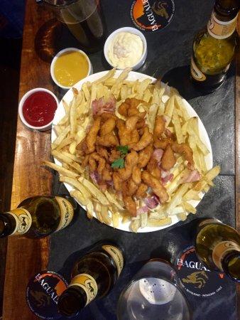 Cerveza Baguales: Picada