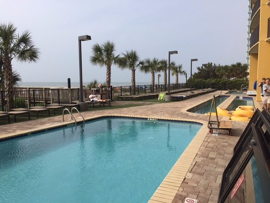 Anderson Ocean Club and Spa, Oceana Resorts: Outdoor pool and lazy river