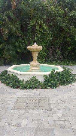 The Ancient Spanish Monastery : Fountain