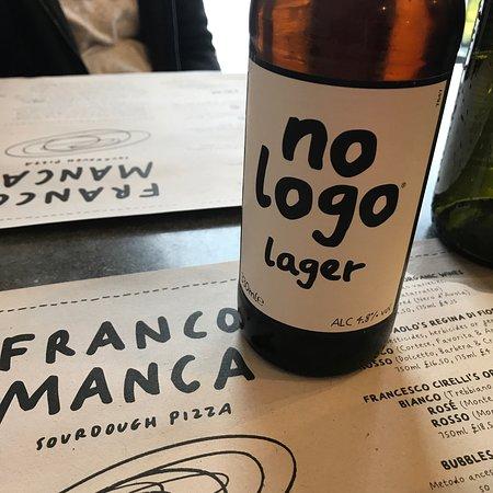 Franco Manca Broadway Market : Nice beer!