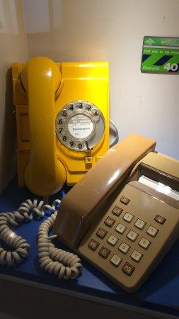 Milton Keynes Museum: Old phones