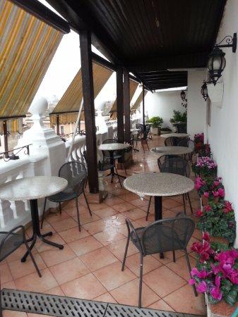 Hotel Genio: Roof Terrace