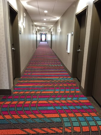 Moore, Оклахома: Clean and colorful hallways