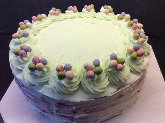 Dollar, UK: Blueberry and Coconut Easter Cake