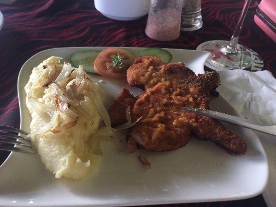 Kuala Teriang, Malaysia: Delicious schnitzel