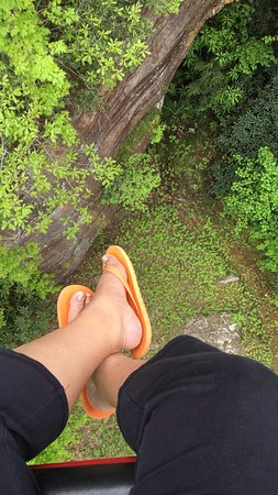 Slade, KY: its a long way down!