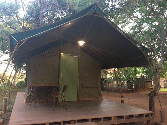 Crocodile Bridge Rest Camp: Inside the camp!