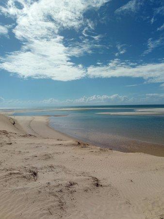 Bazaruto Archipelago, Mozambique: Panorama dalla duna