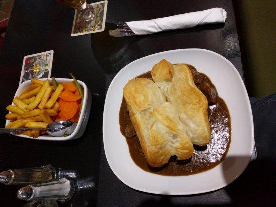 Steak Pie at the Ship Inn Drummore