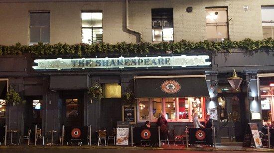 The Shakespeare Pub In VIctoria London