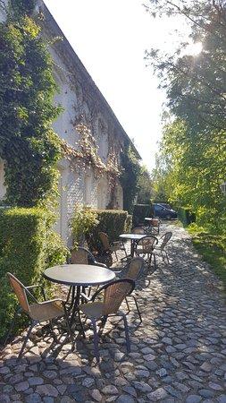 Kyritzer Landhotel Heine: Eingangsbereiche für die Zimmer unterhalb des Heubodens