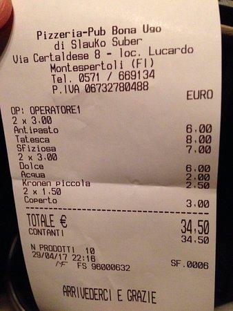 Lucardo, Italia: Ottimi prezzi