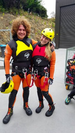 Canyoning Queenstown: Gearing up for the trip!