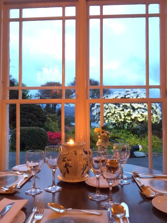 Rosleague Manor Hotel: View from the Dining Room