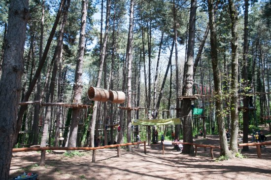 Parco Avventura Montevergine: Vista dall'ingresso
