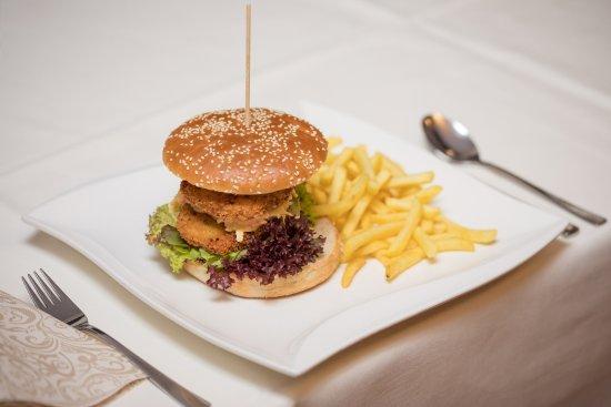 Horbranz, Østrig: Gemüse-Burger