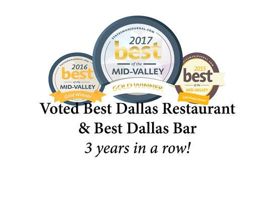 Voted Best Dallas Restaurant, Best Dallas Bar, Best Reason to Visit Dallas and more!