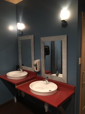 New Minas, Canada: Ladies washroom
