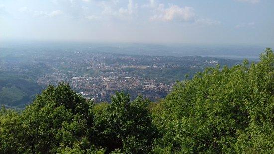 Induno Olona, Itália: vista dalla cima