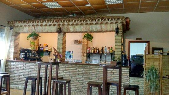 Santa Barbara de Casa, Hiszpania: Barra restaurante