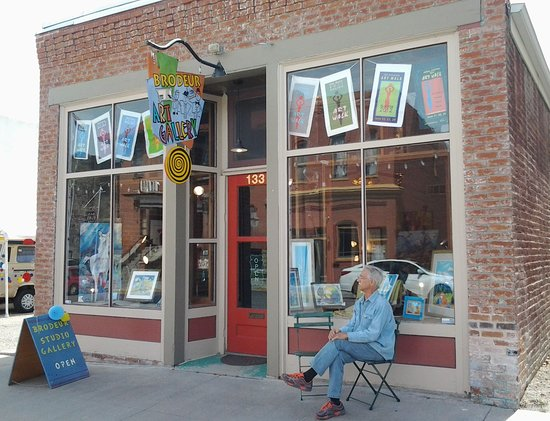 Salida, Colorado: Gallery entrance