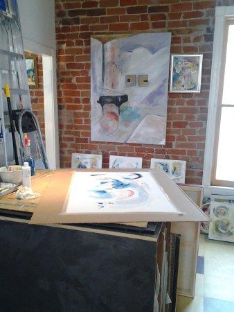 Salida, Colorado: workroom and studio