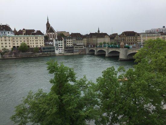 Hotel Krafft Basel: April 2017 visit