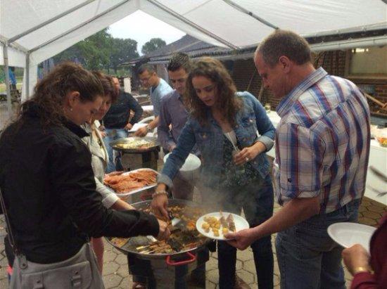 Venray, Países Baixos: Pan-party (bbq)