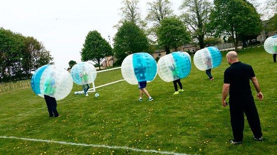 Brackley, UK: 5 aside football