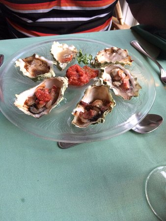Invermere, Canada: The oysters were an excellent appetizer