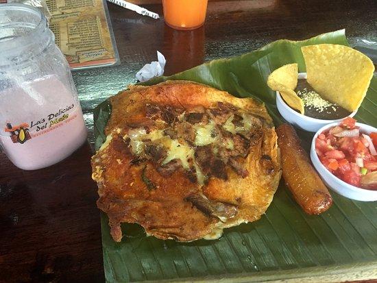 La Garita, Κόστα Ρίκα: Quesadilla