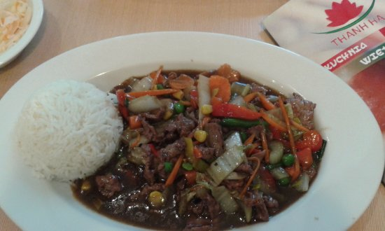 5 Flavours Beef Picture Of Thanh Ha Poznan Tripadvisor
