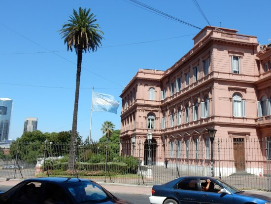 Pink House - Picture of The Pink House, Buenos Aires ...