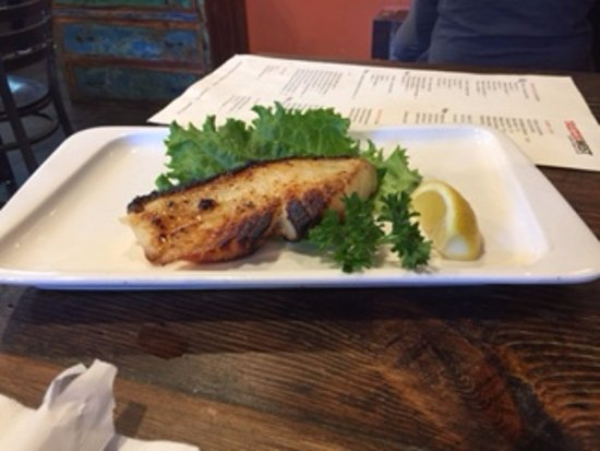 Dublin, CA: Grilled Chilean Sea Bass