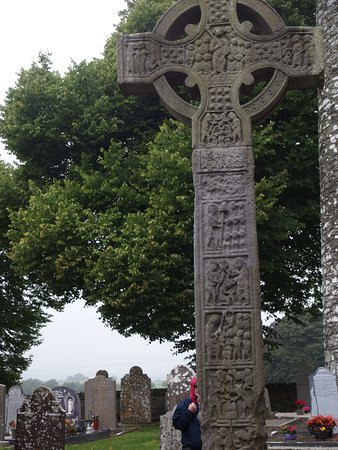County Louth, Ireland: View of a High cross
