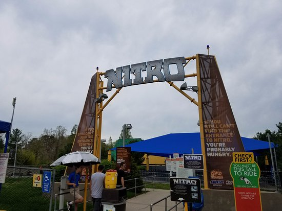 Nitro - Picture of Six Flags Great Adventure, Jackson - TripAdvisor