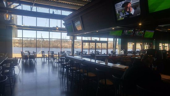 Wausau, WI: Wisconsin River views for your dining experience at WOW