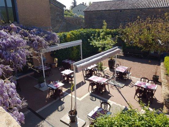 Berze-la-Ville, Francia: La terrasse