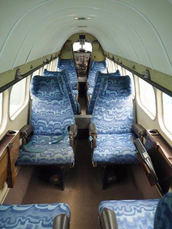 de Havilland Aircraft Museum: Inside the DH Heron.