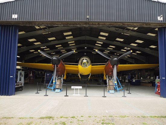 de Havilland Aircraft Museum: The prototype DH Mosquito,