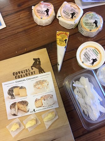West Marin Food & Farm Tours: Cowgirl Creamery Cheeses