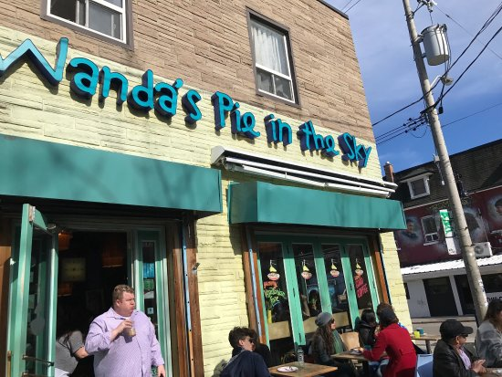 Photo of Restaurant Wanda's Pie in the Sky at 287 Augusta Avenue, Toronto M5T 2M2, Canada