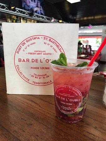 Le Bar de L'Oubli: Pink Mojito