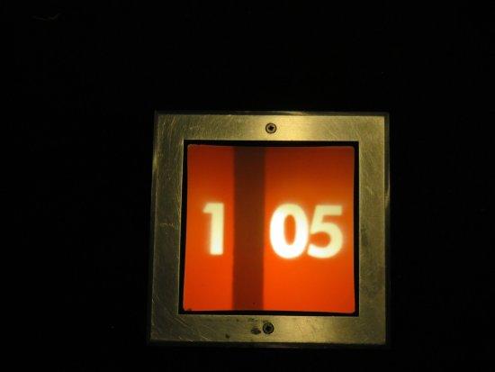 Murata, San Marino: Room numbers-modern!
