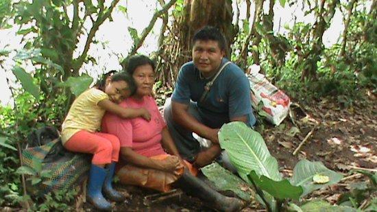 Archidona, Équateur : Familia Kichwa