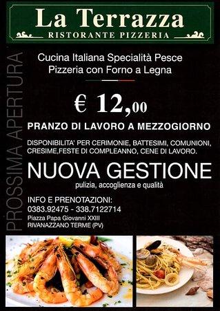 La Terrazza di Solano Rosa - Picture of Ristorante Pizzeria La ...