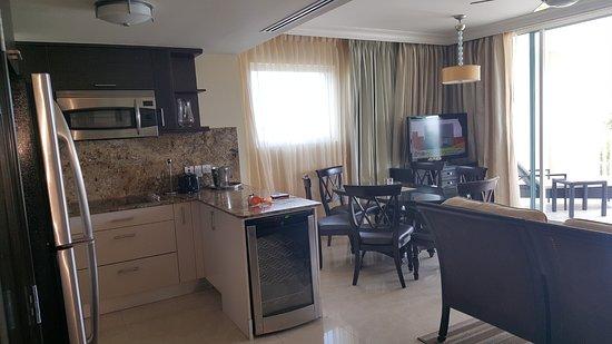 Ocean Two Resort & Residences: kitchen. dining .living room