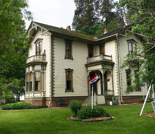 Colfax, WA: Perkins House built in 1886.