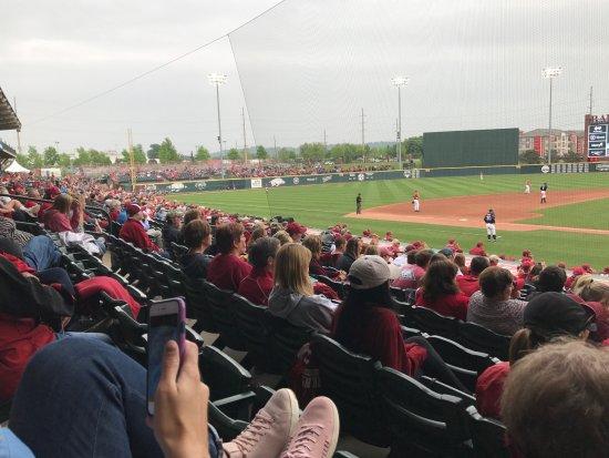 Baum Stadium: Third base seating